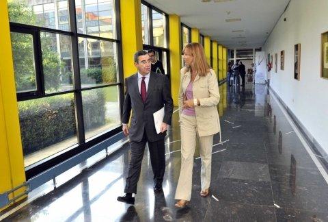 Imaxes inauguración das xornadas - Xornadas sobre o Rexistro de Parellas de Feito de Galicia